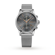 Hugo Boss Men's Stainless Steel Mesh Chronograph Watch 1513440