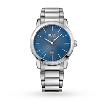 Hugo Boss Mens Classic Blue Dial Watch - Exclusive