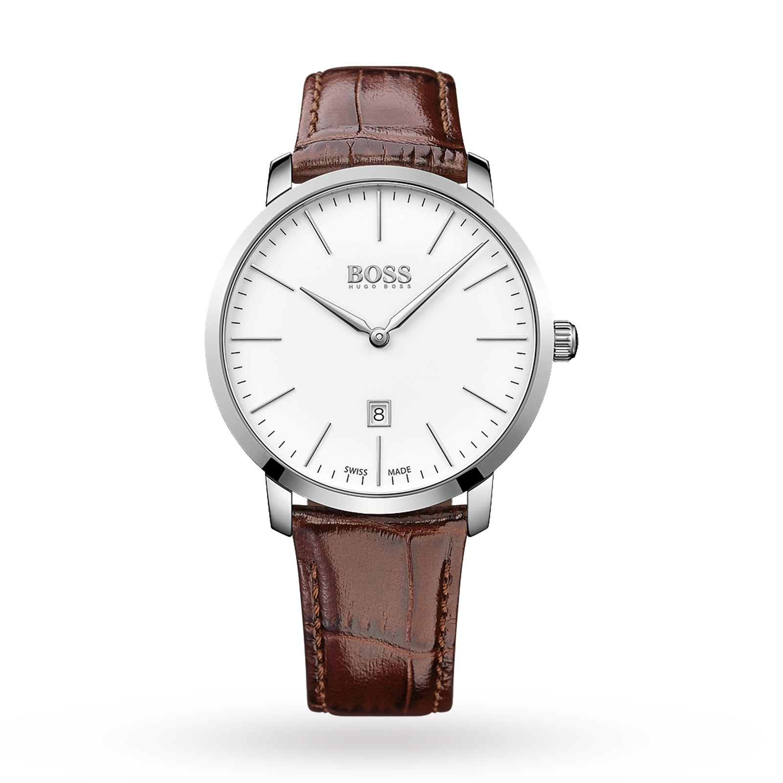 Hugo Boss Men's Swiss Made Slim Watch