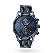 Hugo Boss Black Navigator Blue Chronograph Mens Watch