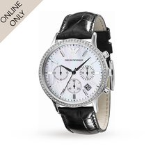Emporio Armani Ladies Chronograph Watch