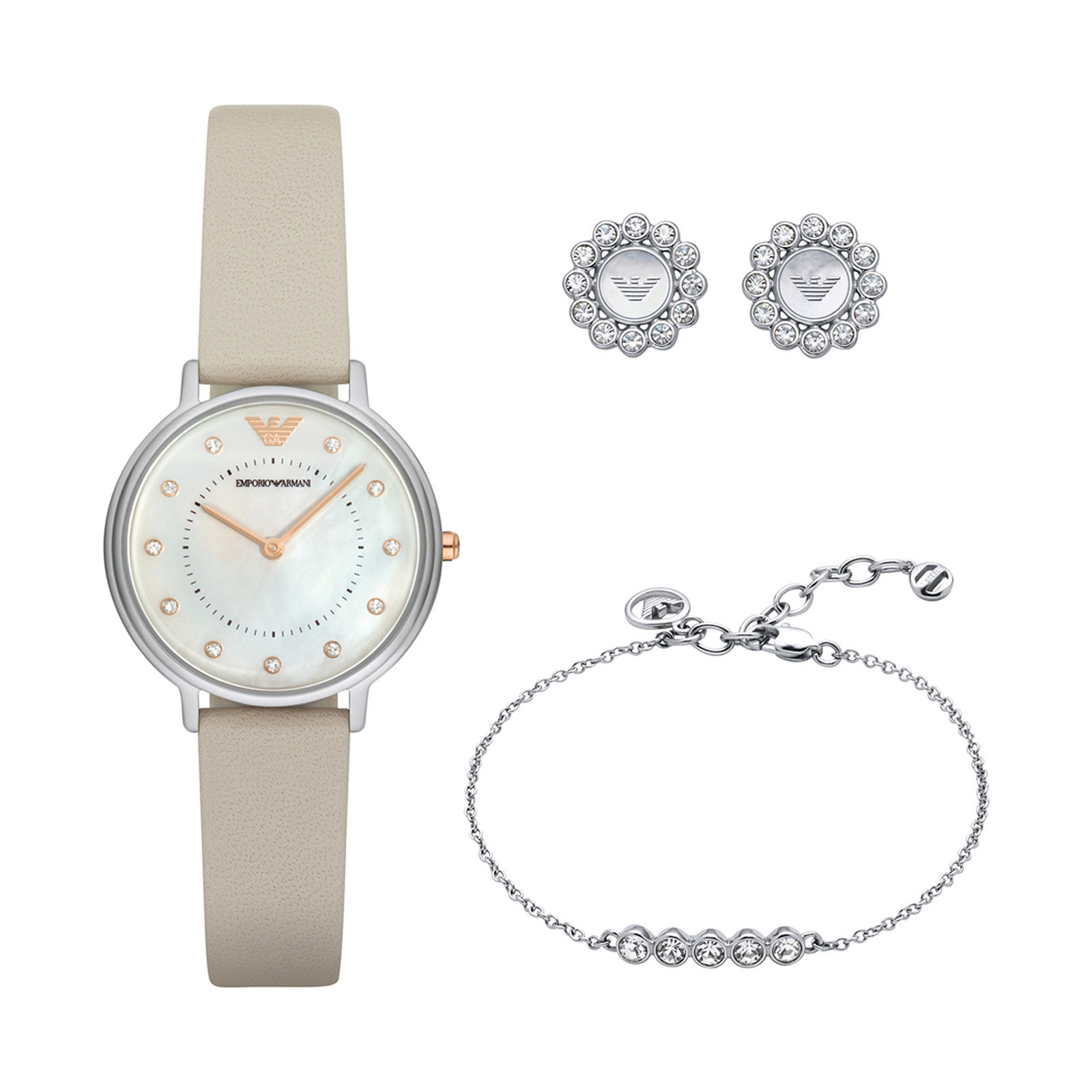 Emporio Armani Ladies Dress Watch Gift Set AR80001