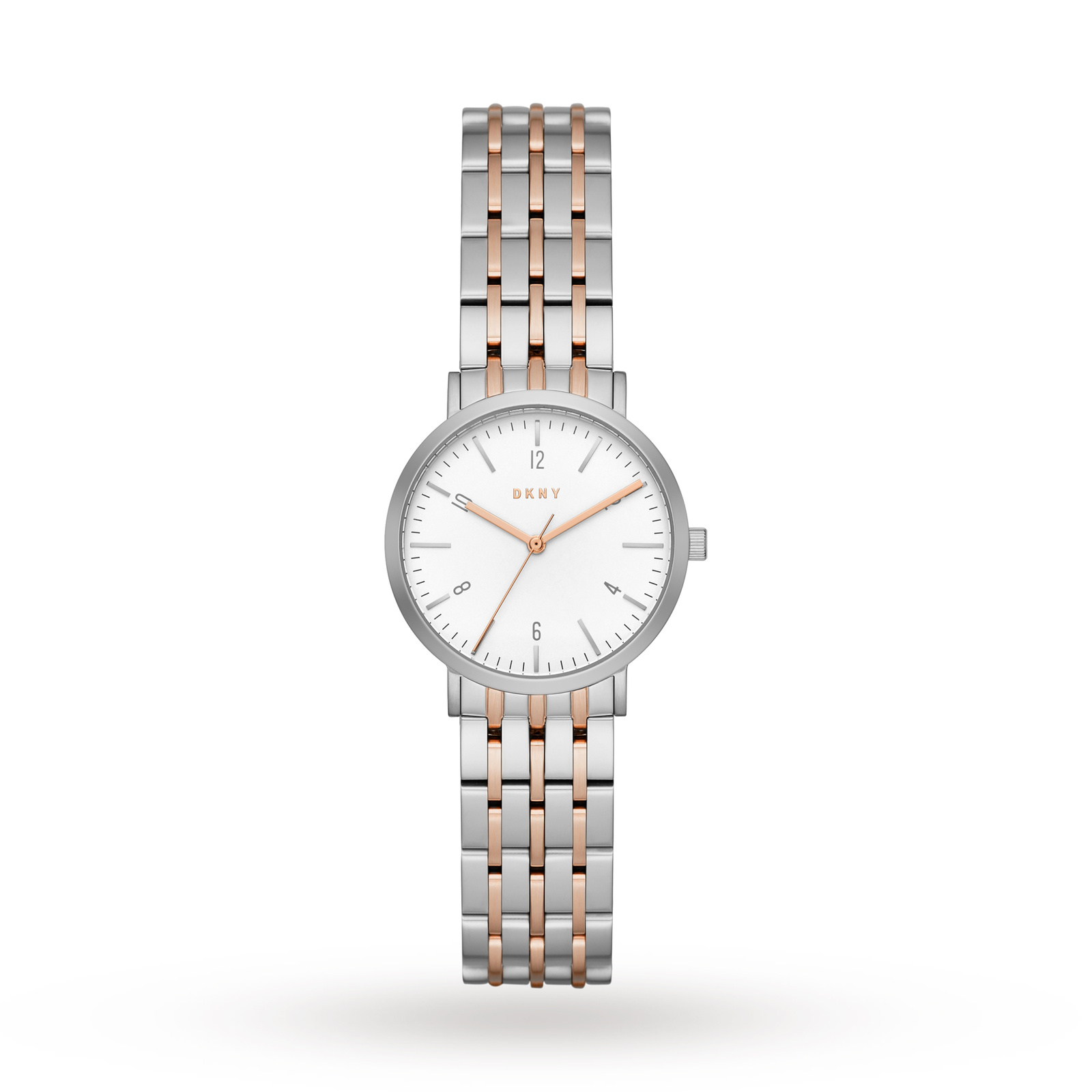 DKNY Two-Tone Three-Hand Watch NY2512