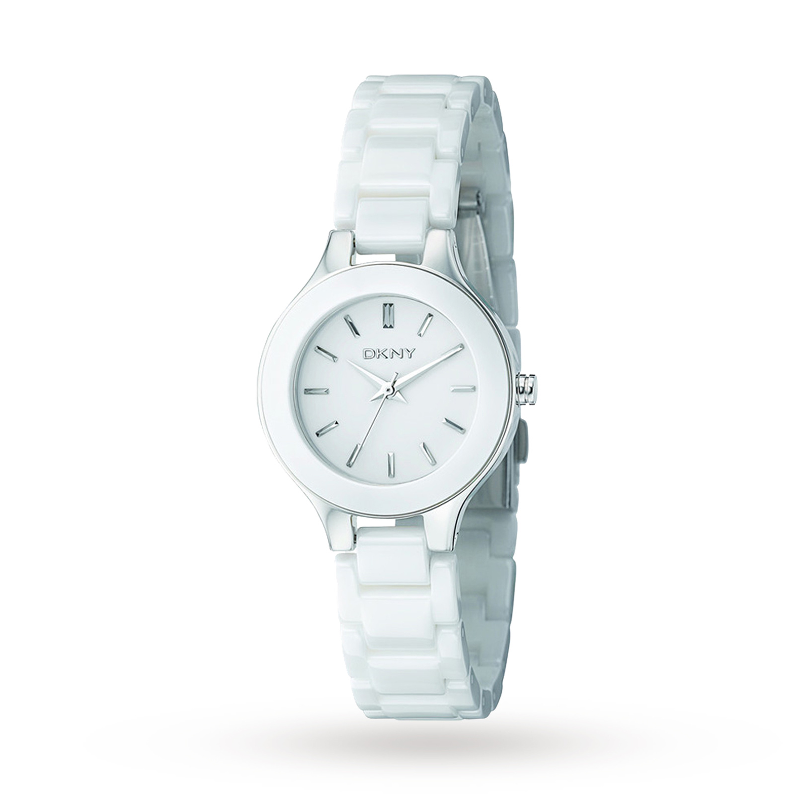 DKNY Ladies' Stanhope Ceramic Watch
