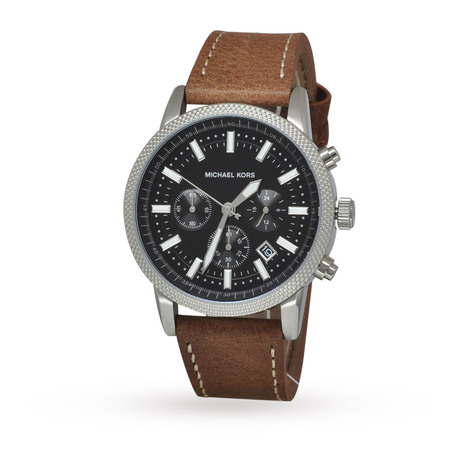 Michael Kors Hawthorne Mens Strap Watch