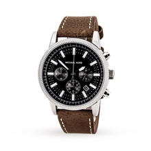 Michael Kors Hawthorne Chronograph Leather Watch