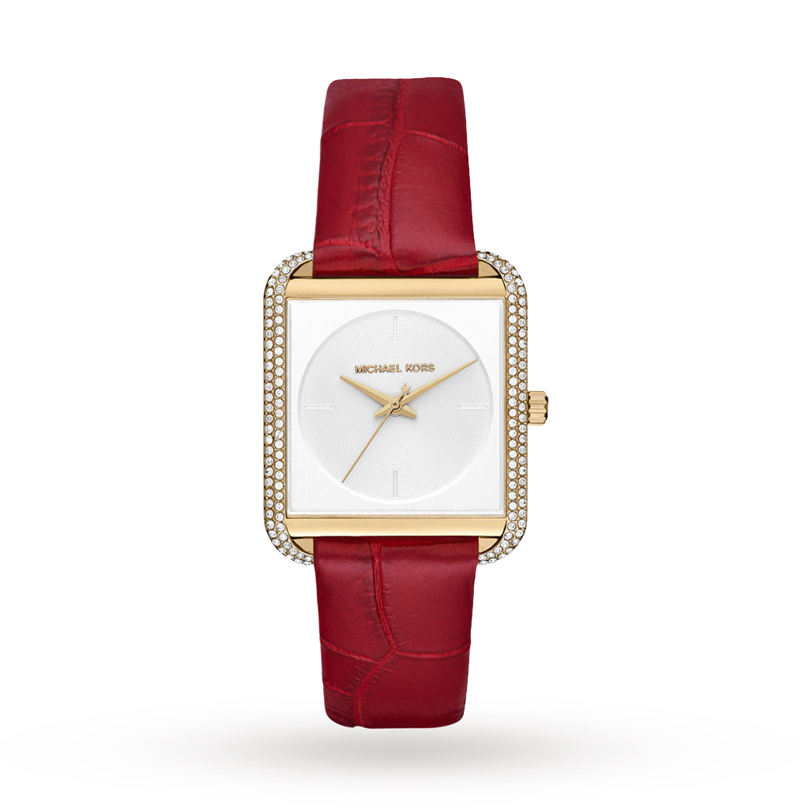 Michael Kors Women's Lake Red Watch