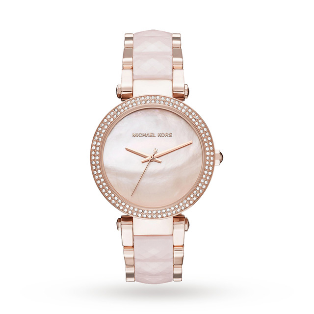 Michael Kors Parker Rose Gold Tone Watch - Exclusive