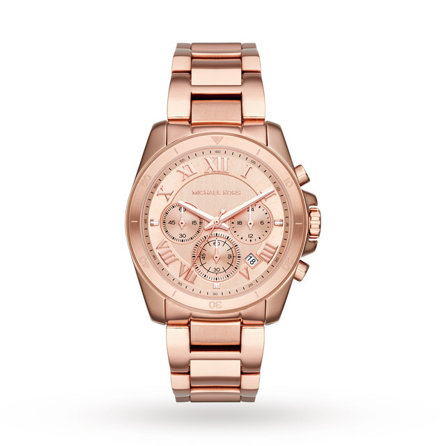 Ladies Michael Kors Brecken Chronograph Watch MK6367