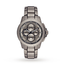 michael kors mens watches goldsmiths mens michael kors titanium titanium chronograph watch mk8530