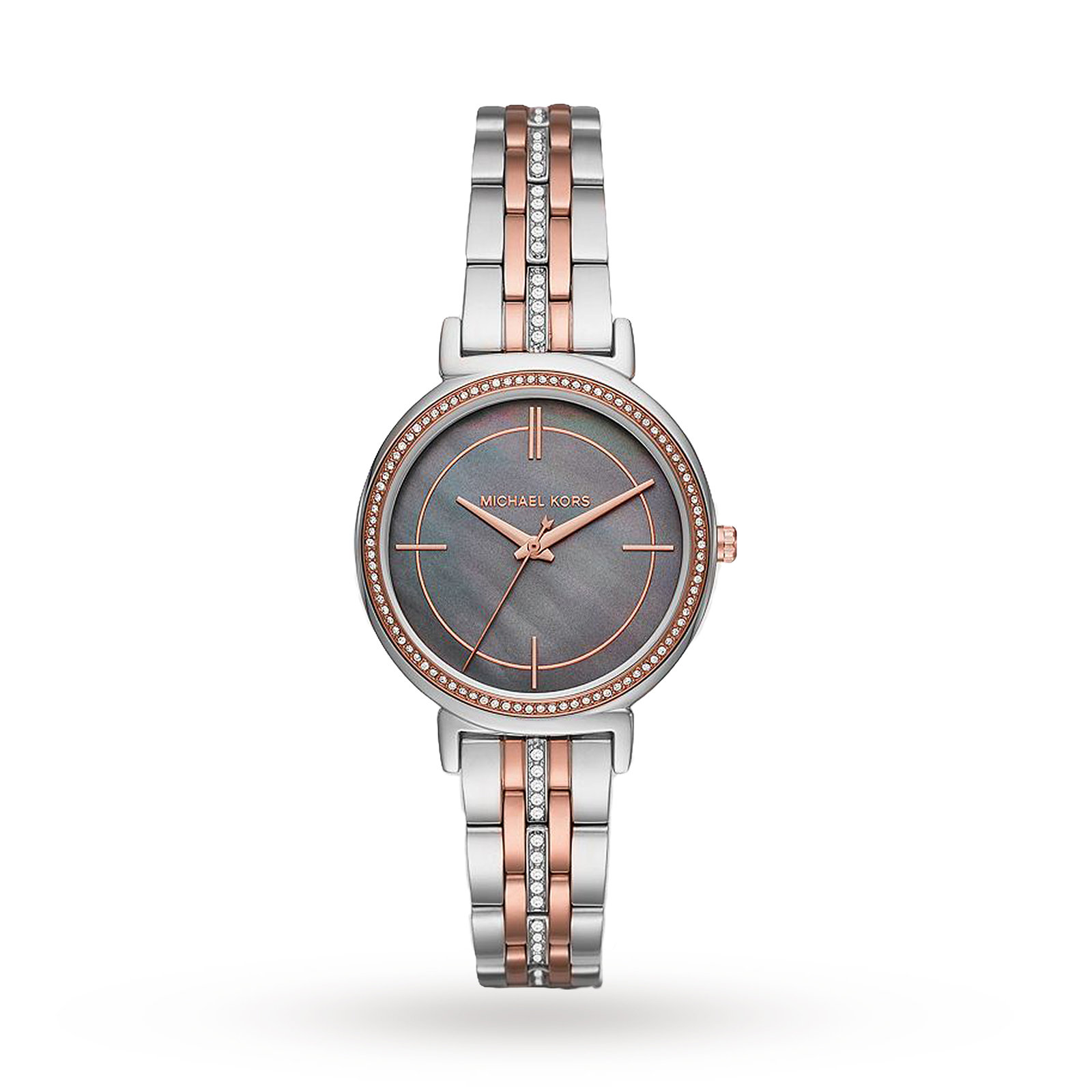 Michael Kors Cinthia Two-Tone Three-Hand Watch