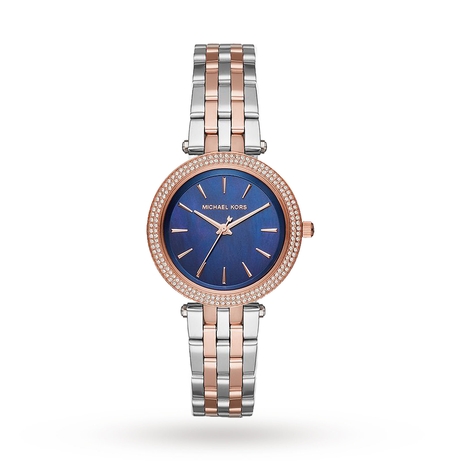 Michael Kors Mini Darci Two-Tone Three-Hand Watch