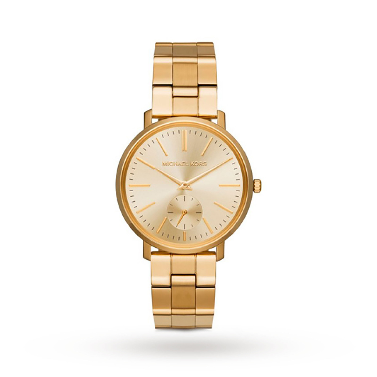 Michael Kors Jaryn Gold-Tone Stainless Steel Ladies Watch