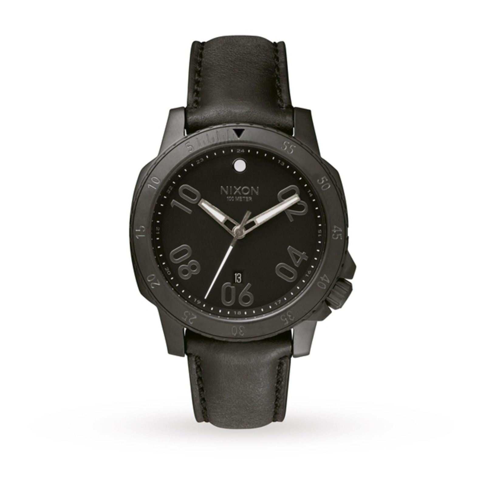 Mens Nixon The Ranger Leather Watch
