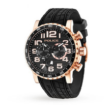 Mens Police Powerslide Chronograph Watch