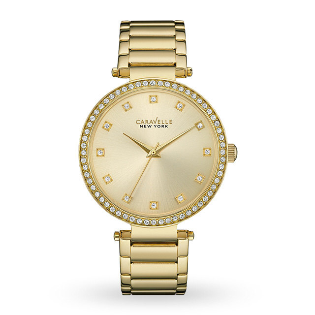 Ladies Caravelle New York T-Bar Watch