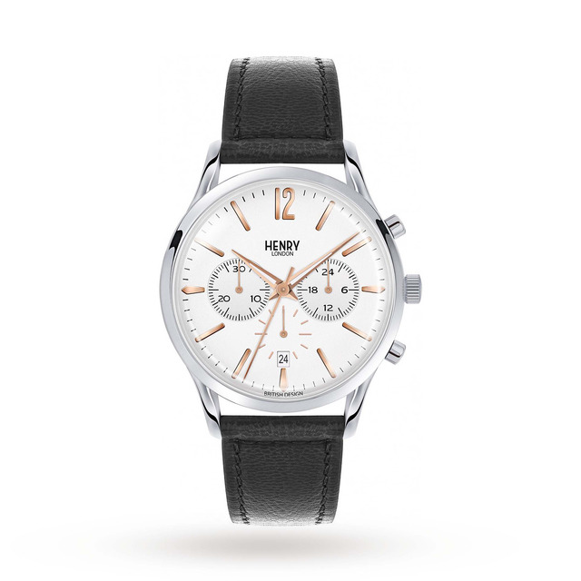 Henry London Men's Highgate Chronograph Watch HL41-CS-0011