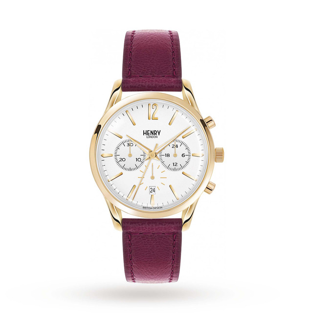Henry London Unisex Holborn Chronograph Watch HL39-CS-0070