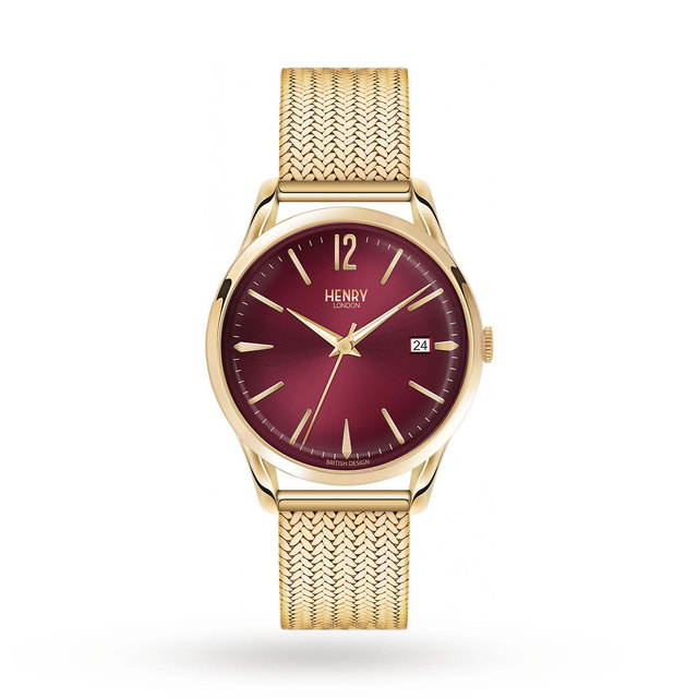 Henry London Unisex Holborn Watch HL39-M-0062