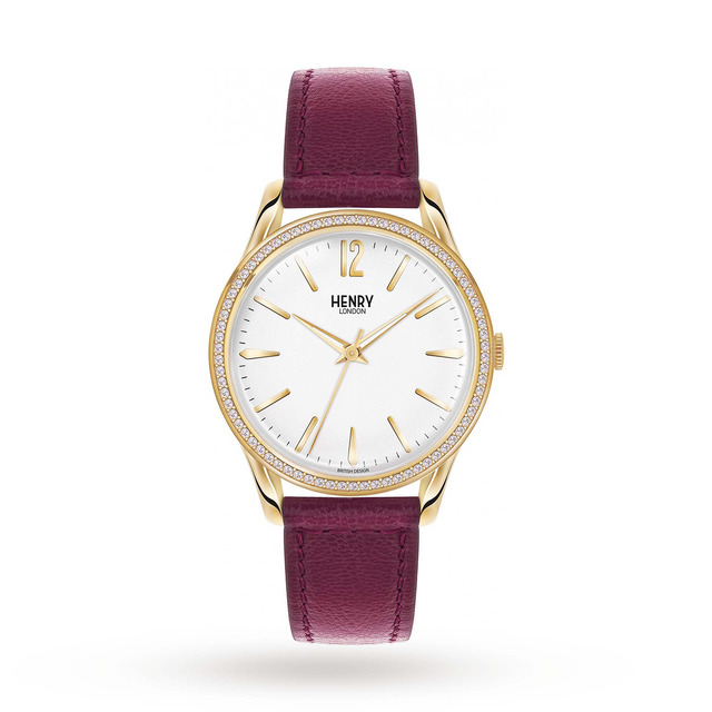 Henry London Unisex Holborn Watch HL39-SS-0068
