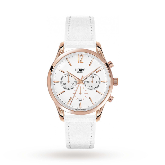 Henry London Unisex Pimlico Chronograph Watch HL39-CS-0126