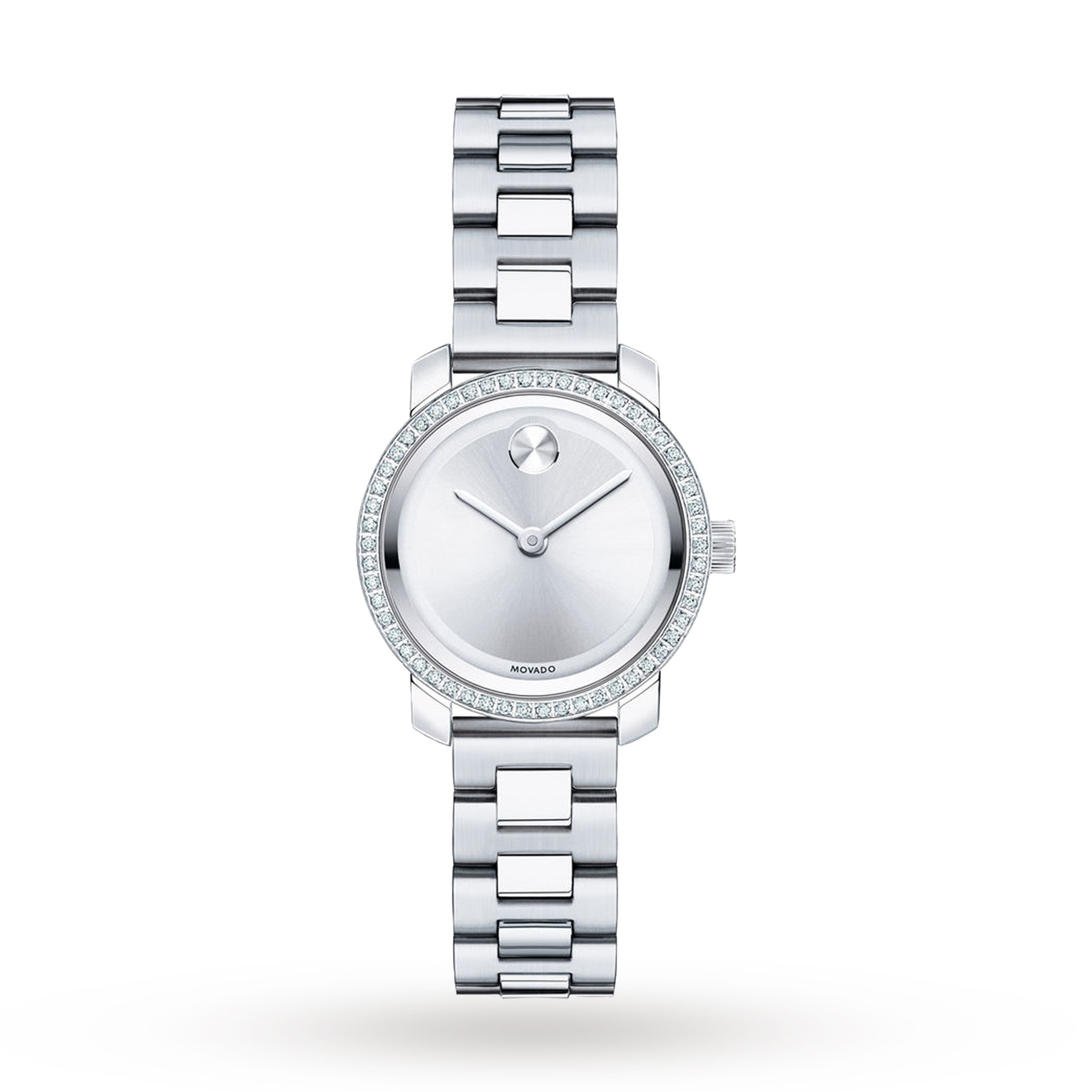 Ladies Movado Bold Diamond Watch 3600214