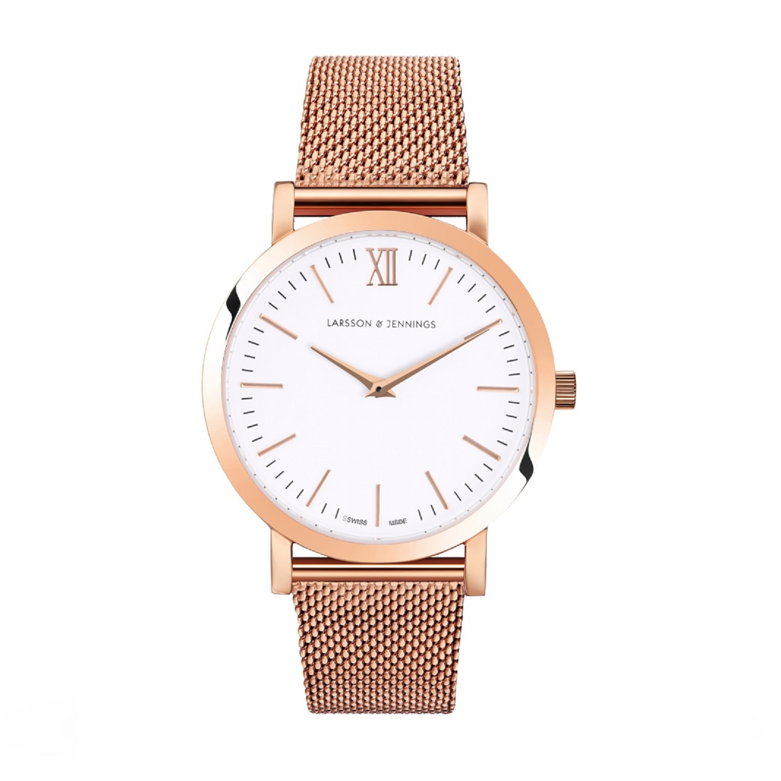 Larsson & Jennings Unisex Lugano 33mm Mesh Watch