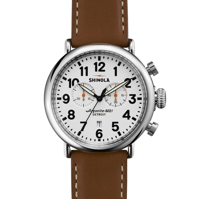 Shinola The Runwell 47mm Chronograph Watch