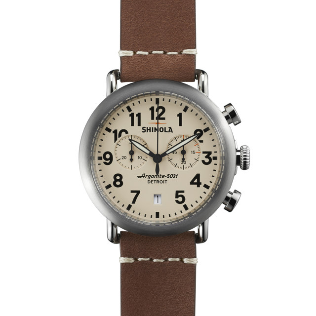 Shinola The Runwell 41mm Chronograph Watch