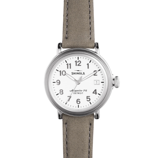 Shinola The Runwell Coin Edge 38mm Unisex Watch