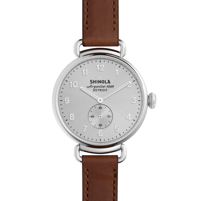 Shinola The Canfield 38mm Unisex Watch