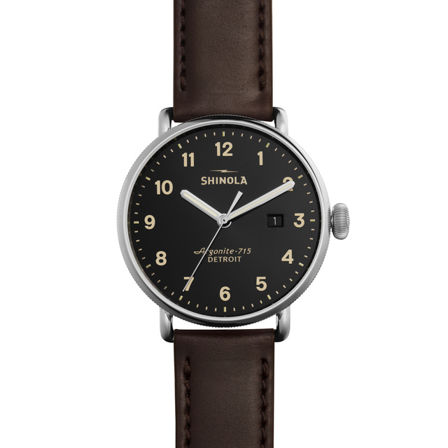 Shinola The Canfield 43mm Mens Watch