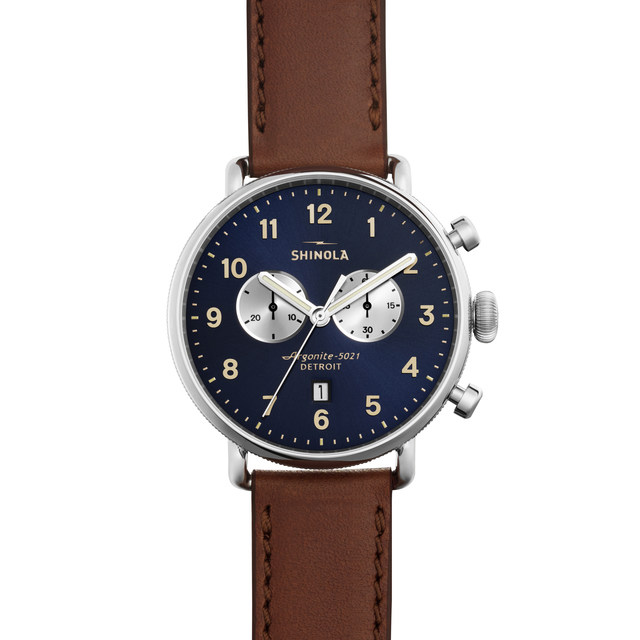 Shinola The Canfield 43mm Unisex Watch