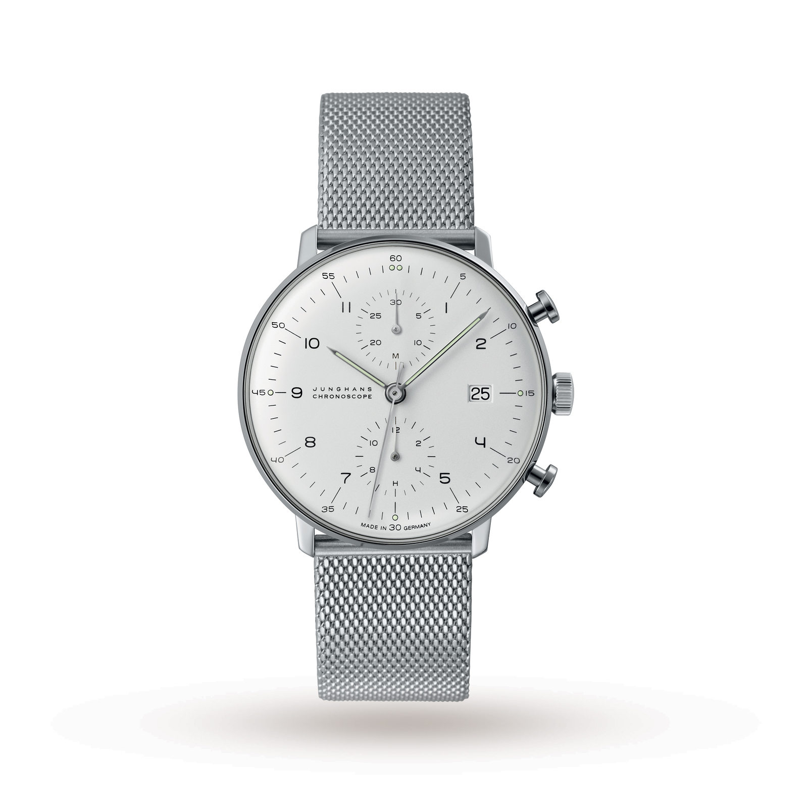 Junghans Men's Max Bill Chronoscope Automatic Chronograph Watch