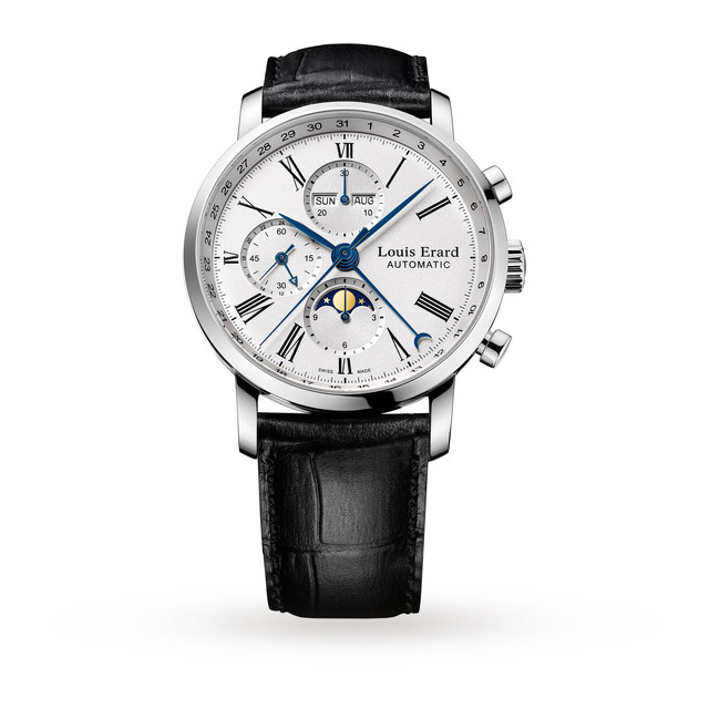 Louis Erard Excellence Chrono Moonphase Mens Watch