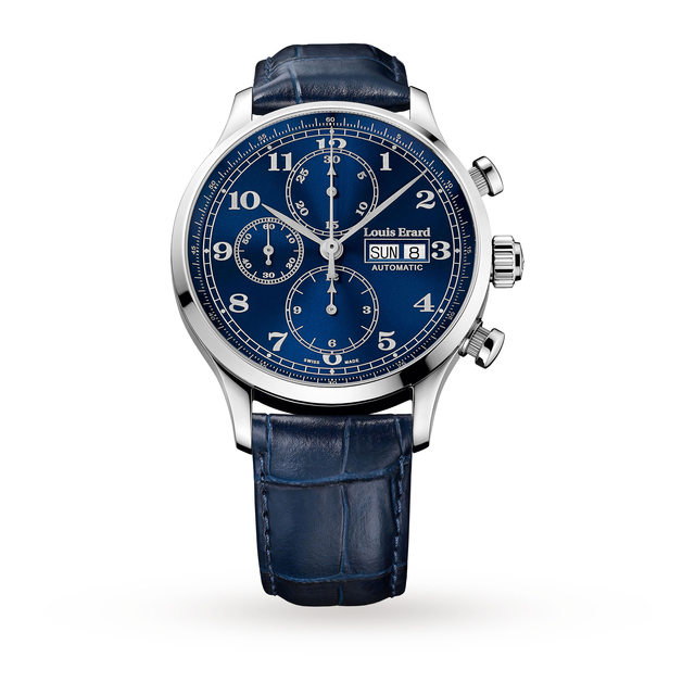 Louis Erard 1931 Chrono Vintage Mens Watch