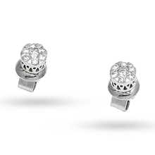 Ponte Vecchio 18ct White Gold 0.42ct Cluster Stud Earringss