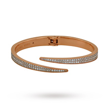 Michael Kors Matchstick Pave Rose Gold-Tone Cuff MKJ3511791