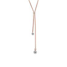 Michael Kors Grey Pearl Necklace MKJ6312791