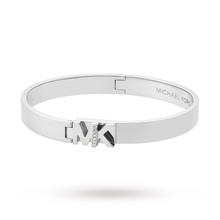 Michael Kors Haute Hardware Silver Coloured Bangle