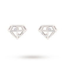 Ted Baker Jewellery Cerese Crystal Sparkle Small Gem Frame Stud Earring