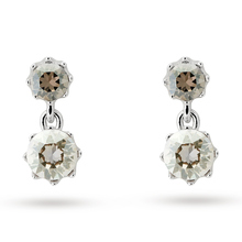 Ted Baker Jewellery Ladies' Silver Plated Connolee Crystal Crown Short Earring