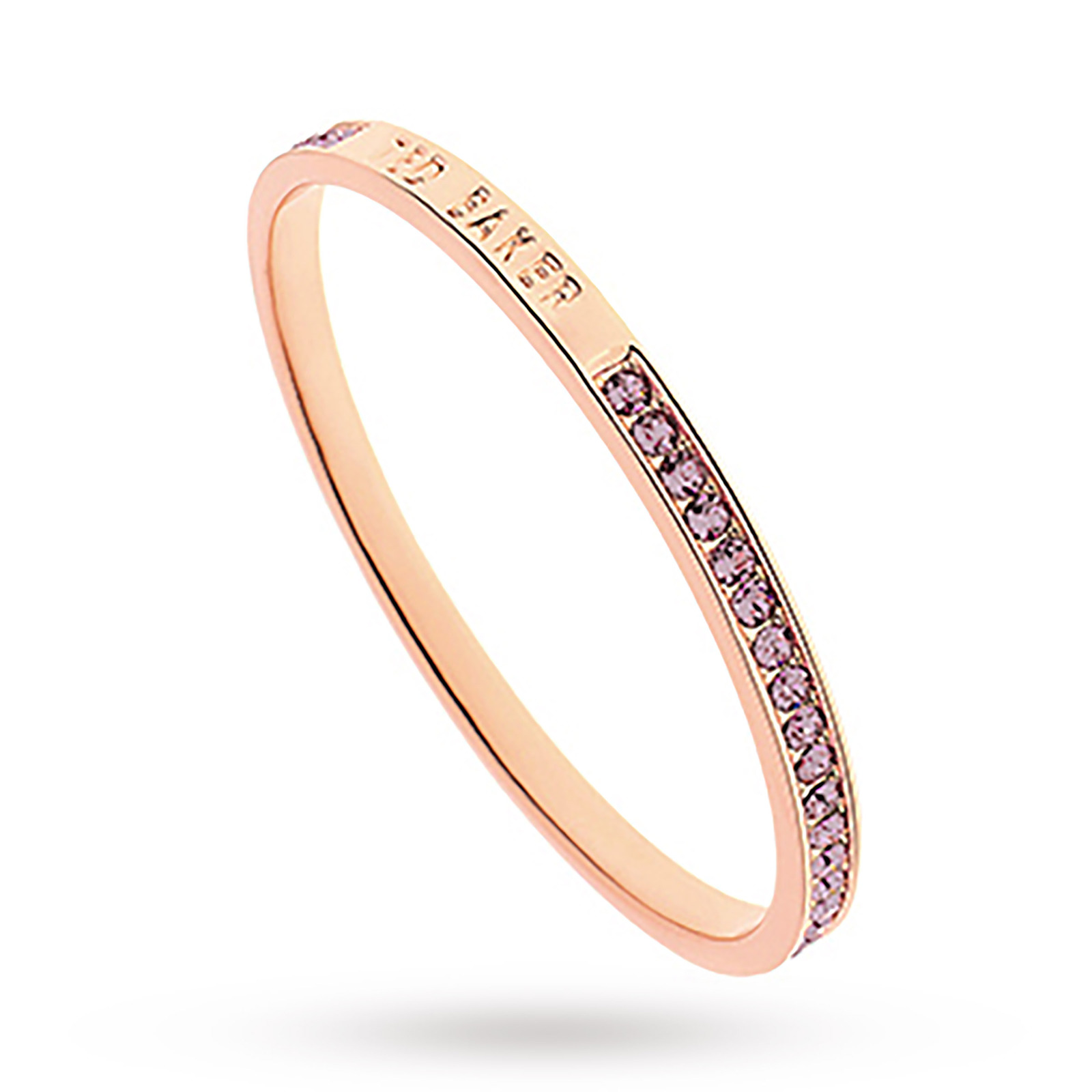 Exclusive Rose Gold Purple Clem Bangle