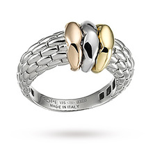 Fope Love Nest Ring in 18 Carat White Gold