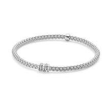 Fope 18ct White Gold Flex'it Prima Bracelet