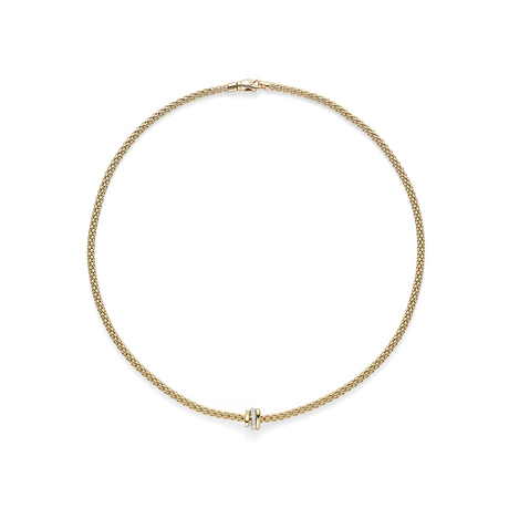 Fope 18ct Yellow Gold Flex'it Prima Necklace
