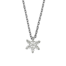 Estella Bartlett Mini Snowflake Pendant