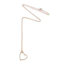 Estella Bartlett 'Make A Wish' Gold Heart Necklace