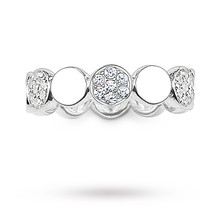 Thomas Sabo Charm Club Eternity Ring - Size O