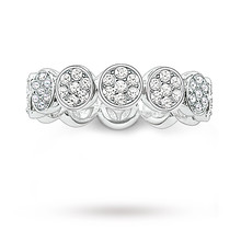 Thomas Sabo Charm Club Eternity Ring -size M 1/2